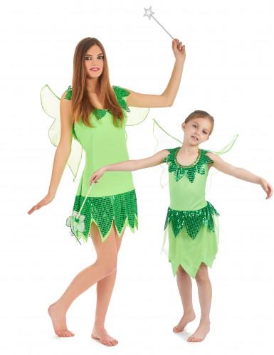 Costume coppia fate madre e figlia