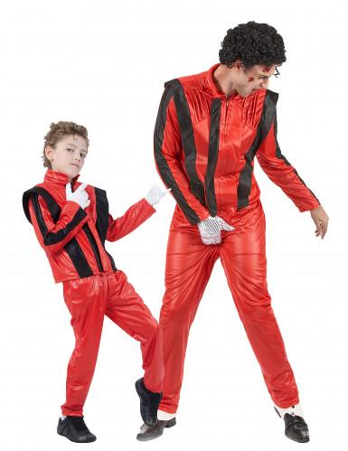 Costume pop star coppia uomo bambino