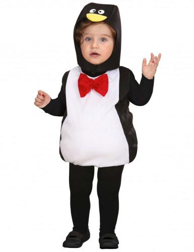 Costume da pinguino col panciotto per neonato