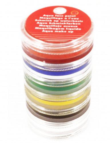 Trucchi per viso e corpo 6 colori