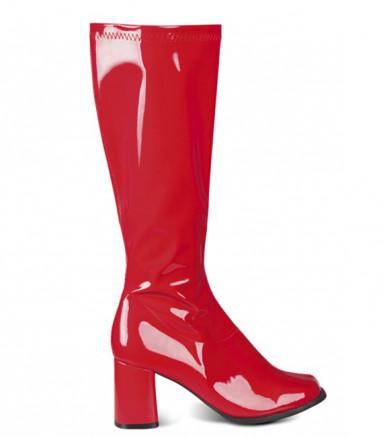 Stivali rossi donna
