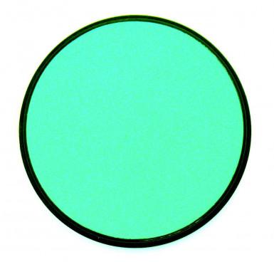 Fard blu turchese viso e corpo