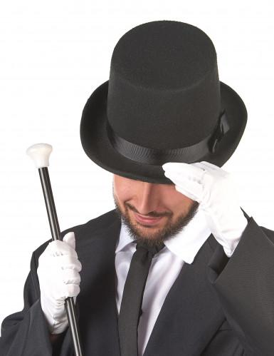 Cappello a cilindro nero da adulto