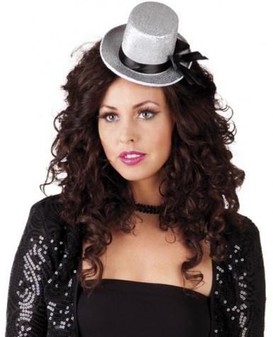 Mini cappello grigio donna