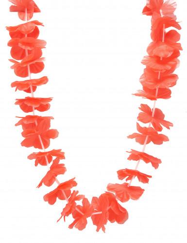 Collana hawaiana rossa