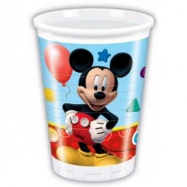 8 bicchieri plastica Mickey Mouse ™