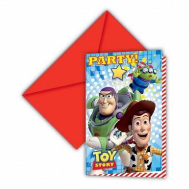 6 Inviti per feste Toy Story Start Power™