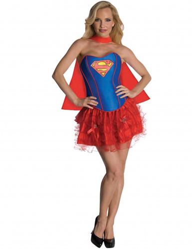 Costume Supergirl™sexy adulto