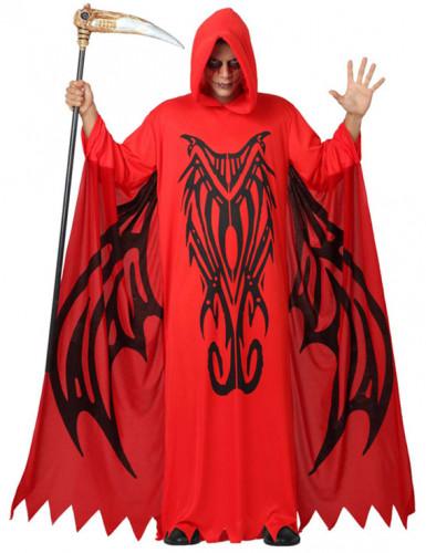Costume da demone rosso uomo Halloween