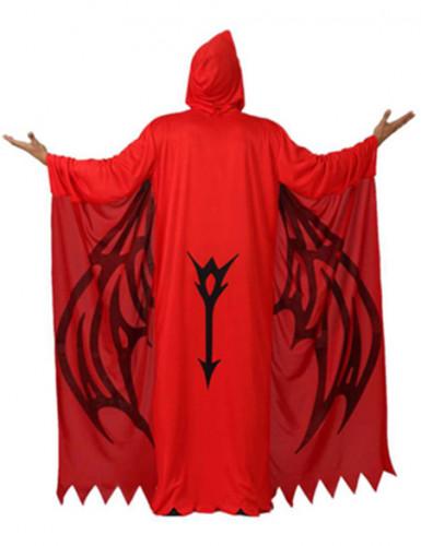 Costume da demone rosso uomo Halloween-1