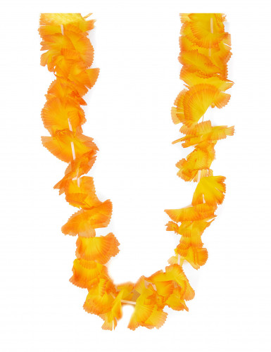 Collana hawai arancione