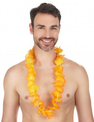 Collana hawai arancione-1