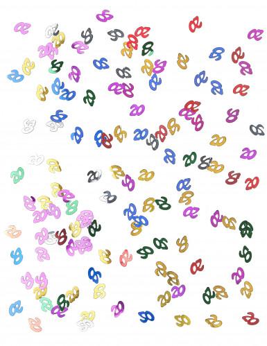 Coriandoli da tavola multicolori numero 20-1
