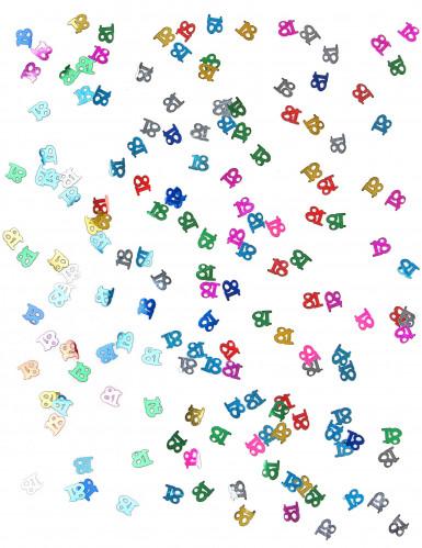 Coriandoli da tavola multicolori numero 18-1