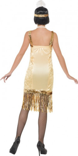 Costume Charleston dorato donna-2