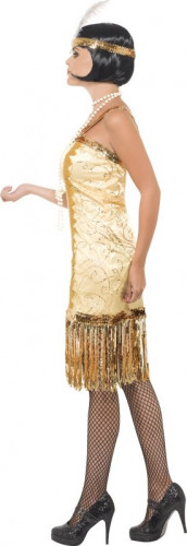 Costume Charleston dorato donna-1