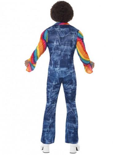 Costume disco effetto jeans uomo-2