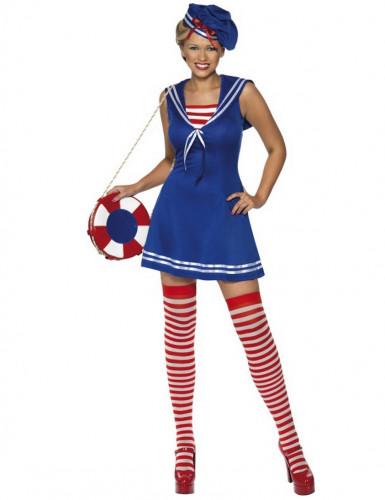 Costume marinaio donna con calze