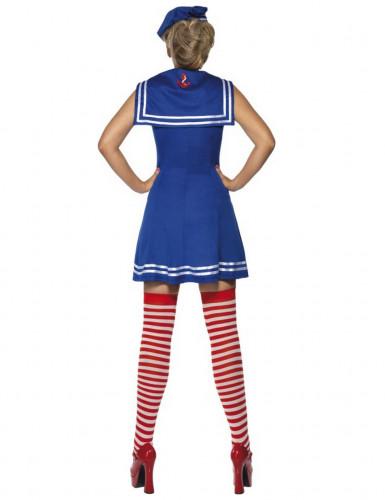 Costume marinaio donna con calze-2
