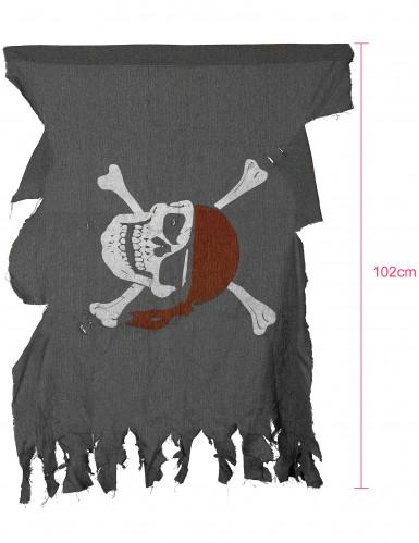 Bandiera Pirata con teschio-2