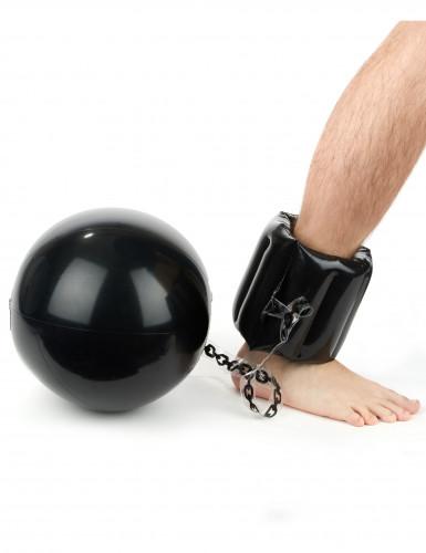 Palla con catena da prigioniero gonfiabile-1