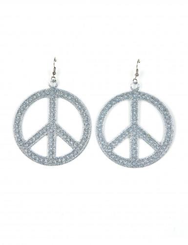 Orecchini Hippie argentati