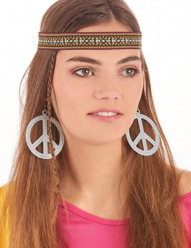 Orecchini Hippie argentati-1
