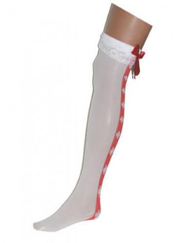 Calze da infermiera bianche