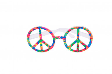 Occhiali multicolore Hippy
