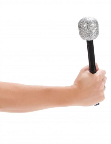 Microfono cantante paillettato-1