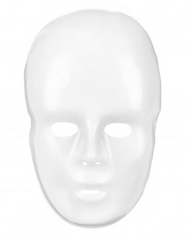 Maschera bianca adulto