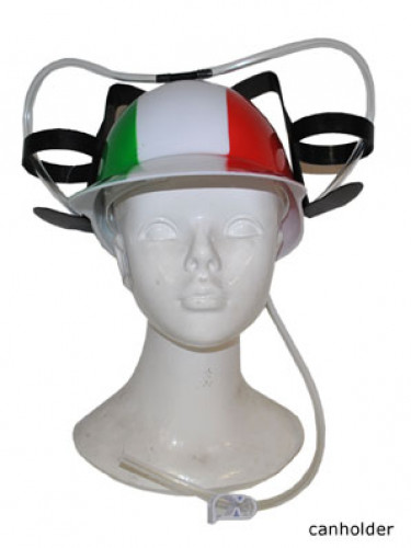 Casco porta bicchieri Italia