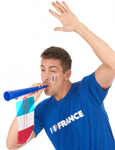Trombetta calcio con bandiera Francese-1
