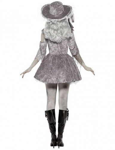 Costume fantasma pirata Halloween donna-2