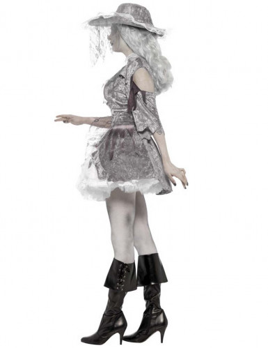 Costume fantasma pirata Halloween donna-1
