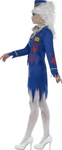 Costume zombie hostess donna Halloween-2