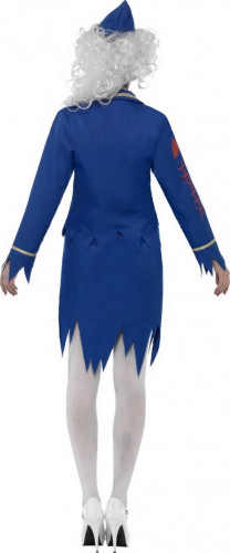 Costume zombie hostess donna Halloween-1