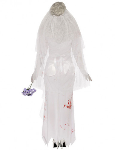 Costume zombie sposa donna Halloween-1