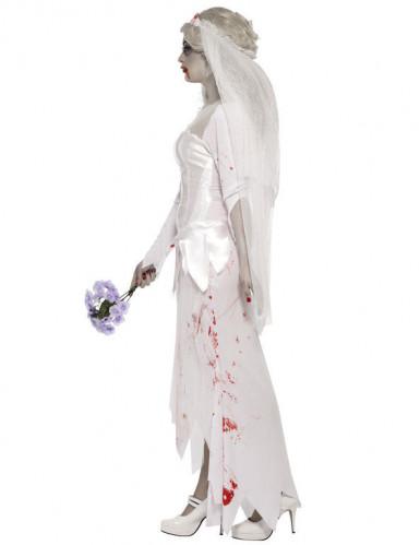 Costume zombie sposa donna Halloween-2