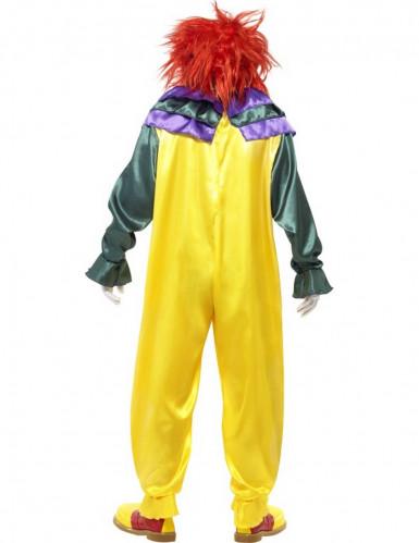 Costume clown assassino terrificante adulto-2