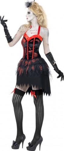 Costume zombie burlesque sexy donna Halloween-1