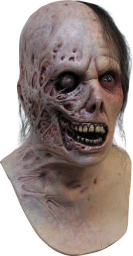 Maschera zombie bruciato adulto Halloween