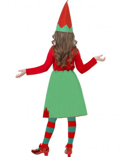 Costume elfo di natale bambina-2