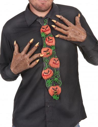 Cravatta con zucche