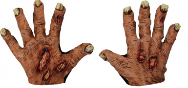 Guanti da zombie per Halloween