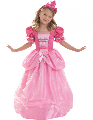 Costume principessa rosaCorolle™ bambina