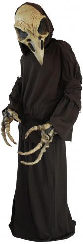 Decorazione scheletro avvoltoio halloween