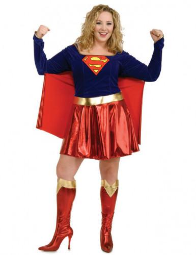 Costume super girl taglie forti