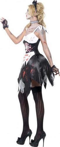 Costume zombie cameriera sexy donna halloween-1