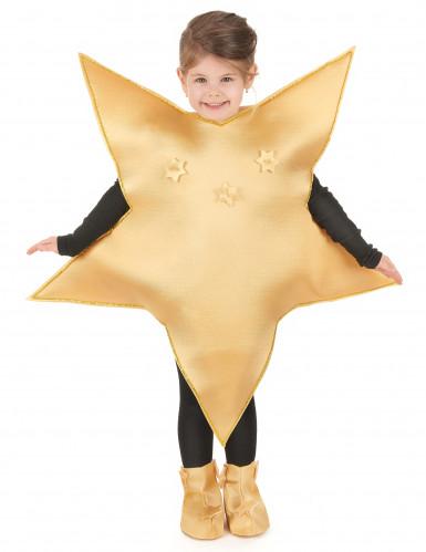 Costume stella dorata bambino